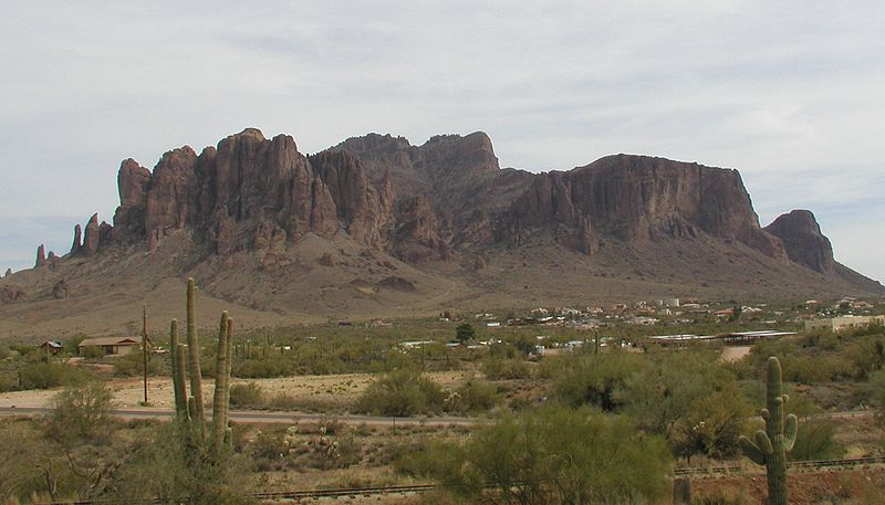 Superstition Mountains – Ghost, lost mines, murder and mayhem - Photo