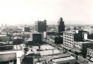 Phoenix skyline – ca. 1940